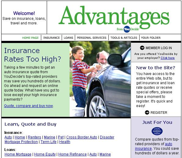 You Decide - Insurance Products